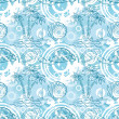 Seamless exotic ocean pattern — Stock Photo
