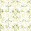 Seamless exotic pattern — Stock Photo