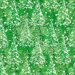 Seamless pattern with Christmas trees — Imagen vectorial