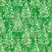 Seamless pattern with Christmas trees — Stock Photo