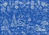 Holiday Christmas background — Stock Photo