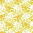 Seamless floral background — Stock Photo