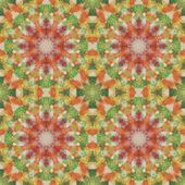 Pinturas fisuras patrón floral sobre tela — Foto de Stock