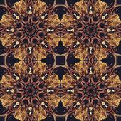 бесшовный цветочный орнамент, кора на ткани — Стоковое фото
