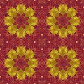Abstrait ethnique motif géométrique sans soudure — Photo