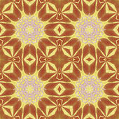 Seamless pattern with colorful leaves — Стоковое фото