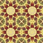 Patrones sin fisuras con hojas de colores — Foto de Stock