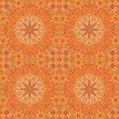 Bezešvé pattern, mozaika z tkaniny — Stock fotografie