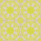 Seamless mönster med färgglada löv — Stockfoto
