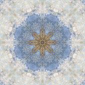 Seamless ornament, garlic husks and watercolor — Stock Photo