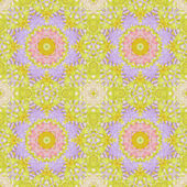Bezešvé vzor s barevnými listy — Stock fotografie