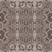 Seamless graphic pattern on canvas — Stock Photo