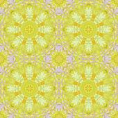 色鮮やかな葉とのシームレスなパターン — ストック写真
