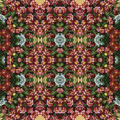 Seamless floral pattern, oil painting — Stock Photo