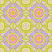 Seamless pattern with colorful leaves — Stock Photo