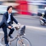 Постер, плакат: Bike in motion