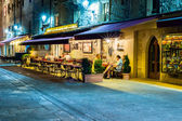 San Marino nightlife — Stock Photo