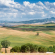 Tuscan landscape, Italy - Stock Photo