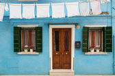 House on Burano — Stock Photo