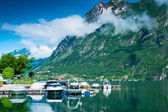 Lake Lugano landscape — Stock Photo