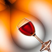 Surreal wine art — Stock Photo