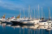 Marina in Valencia — Stock Photo
