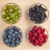 Variation of berries — Stock Photo