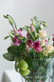 Lisianthus flowers bunch — Stock Photo