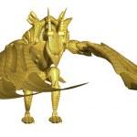Metal Dragon — Stock Photo #46122871