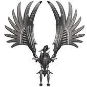 Metal Dragon — Stock Photo