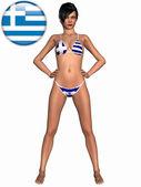 Sexy Girl with Bikini — Stock Photo