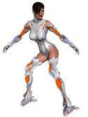 Female Cyborg — Stock Photo