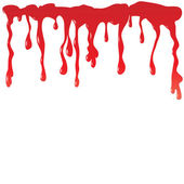 Blood dripping — Stock Vector
