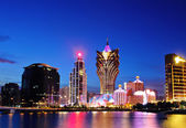 Macau at night — Stock Photo