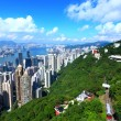The Peak in Hong Kong - Stock Photo