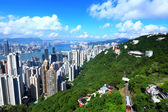 The Peak in Hong Kong — Stock Photo