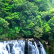 Waterfall in taiwan - Stock Photo