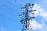 Electricity tower — Stock Photo