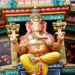 Hindu temple statue - Stock Photo