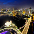 Stock Photo: Singapore cityscape