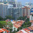 Residential downtown in Singapore — Stock Photo #12927682