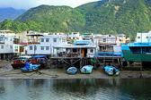 Fishing village Tai O in Hong Kong — Stock Photo