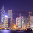 Royalty-Free Stock Photo: Hong Kong at night