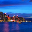 Hong Kong at night — Stock Photo #13385253