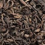 Black tea loose dried tea leaves — Stock Photo