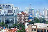 Residential area in Singapore — Stock Photo