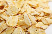Dry rolled oats close up — Stock Photo