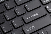 Computer keyboard enter — Stock Photo