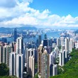 Hong Kong Skyline — Foto Stock