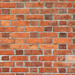 Old red brick wall texture background — Photo